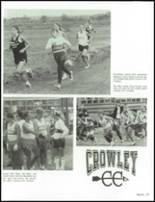 1994 Crowley High School Yearbook Page 84 & 85