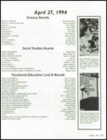 1994 Crowley High School Yearbook Page 206 & 207