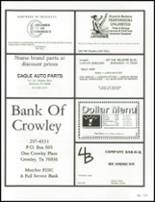 1994 Crowley High School Yearbook Page 218 & 219