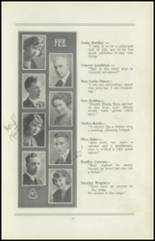 1922 San Jose High School Yearbook Page 12 & 13