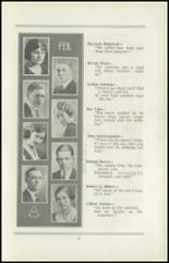 1922 San Jose High School Yearbook Page 14 & 15