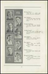 1922 San Jose High School Yearbook Page 16 & 17