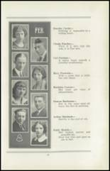 1922 San Jose High School Yearbook Page 18 & 19