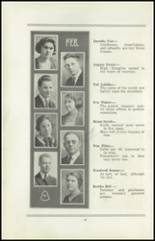 1922 San Jose High School Yearbook Page 20 & 21