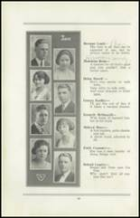1922 San Jose High School Yearbook Page 22 & 23