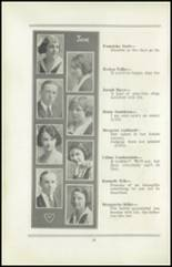 1922 San Jose High School Yearbook Page 24 & 25