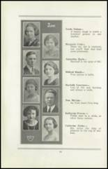 1922 San Jose High School Yearbook Page 26 & 27
