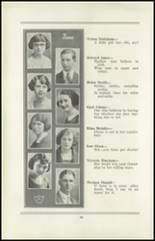 1922 San Jose High School Yearbook Page 28 & 29