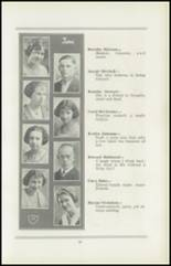 1922 San Jose High School Yearbook Page 30 & 31