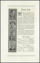 1922 San Jose High School Yearbook Page 60 & 61