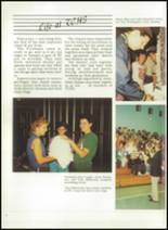 1986 Triton Central High School Yearbook Page 10 & 11