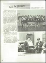1986 Triton Central High School Yearbook Page 122 & 123