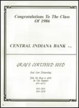 1986 Triton Central High School Yearbook Page 134 & 135