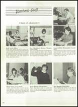 1986 Triton Central High School Yearbook Page 154 & 155