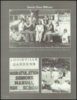 1977 DuPont Manual High School Yearbook Page 80 & 81