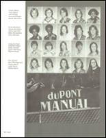 1977 DuPont Manual High School Yearbook Page 92 & 93