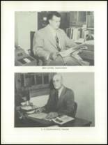 1953 Channing High School Yearbook Page 10 & 11