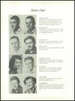 1953 Channing High School Yearbook Page 14 & 15