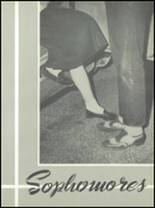 1953 Channing High School Yearbook Page 18 & 19