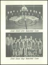 1953 Channing High School Yearbook Page 44 & 45