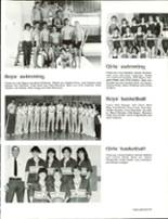 1986 Estes Park High School Yearbook Page 106 & 107