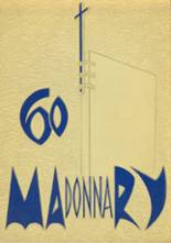 1960 Yearbook Madonna High School