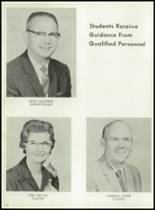1962 Cooper High School Yearbook Page 14 & 15