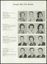 1962 Cooper High School Yearbook Page 30 & 31