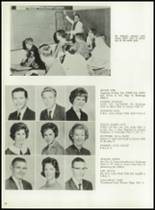 1962 Cooper High School Yearbook Page 36 & 37