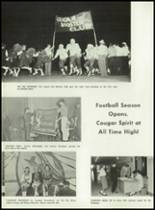 1962 Cooper High School Yearbook Page 124 & 125