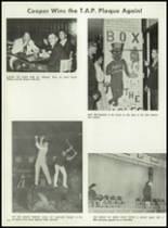1962 Cooper High School Yearbook Page 128 & 129