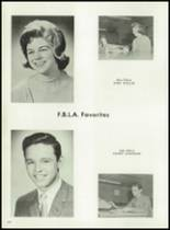 1962 Cooper High School Yearbook Page 154 & 155