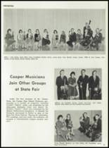 1962 Cooper High School Yearbook Page 170 & 171