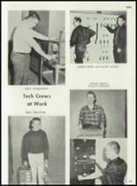 1962 Cooper High School Yearbook Page 186 & 187