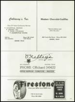 1962 Cooper High School Yearbook Page 206 & 207