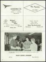 1962 Cooper High School Yearbook Page 208 & 209