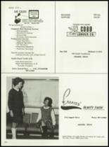 1962 Cooper High School Yearbook Page 210 & 211