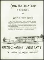 1962 Cooper High School Yearbook Page 212 & 213