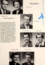 1957 Montpelier Community High School Yearbook Page 16 & 17