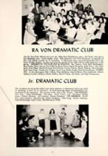 1957 Montpelier Community High School Yearbook Page 36 & 37