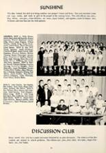 1957 Montpelier Community High School Yearbook Page 40 & 41