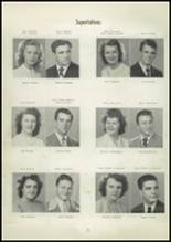 1948 Central High School Yearbook Page 16 & 17