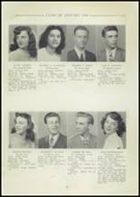 1948 Central High School Yearbook Page 20 & 21