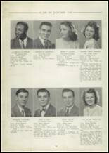 1948 Central High School Yearbook Page 24 & 25