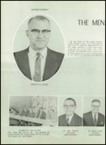 1961 Princeton High School Yearbook Page 14 & 15