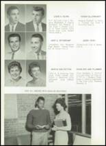 1961 Princeton High School Yearbook Page 32 & 33