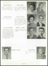 1961 Princeton High School Yearbook Page 38 & 39