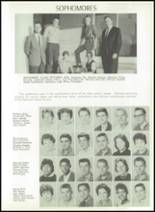 1961 Princeton High School Yearbook Page 54 & 55
