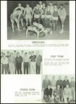 1961 Princeton High School Yearbook Page 128 & 129