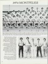 1975 Montpelier High School Yearbook Page 56 & 57